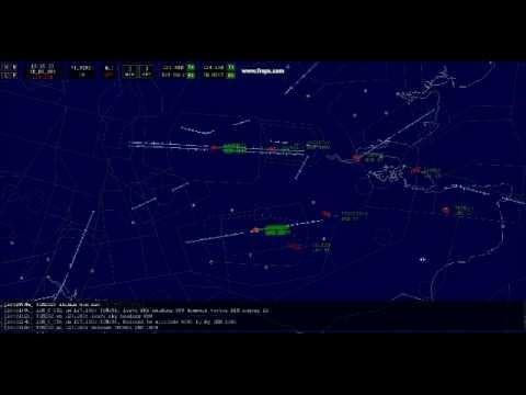Vatsim (VRC) Virtual Radar Client *Observing Gatwick Tower Operations*  19/11/12