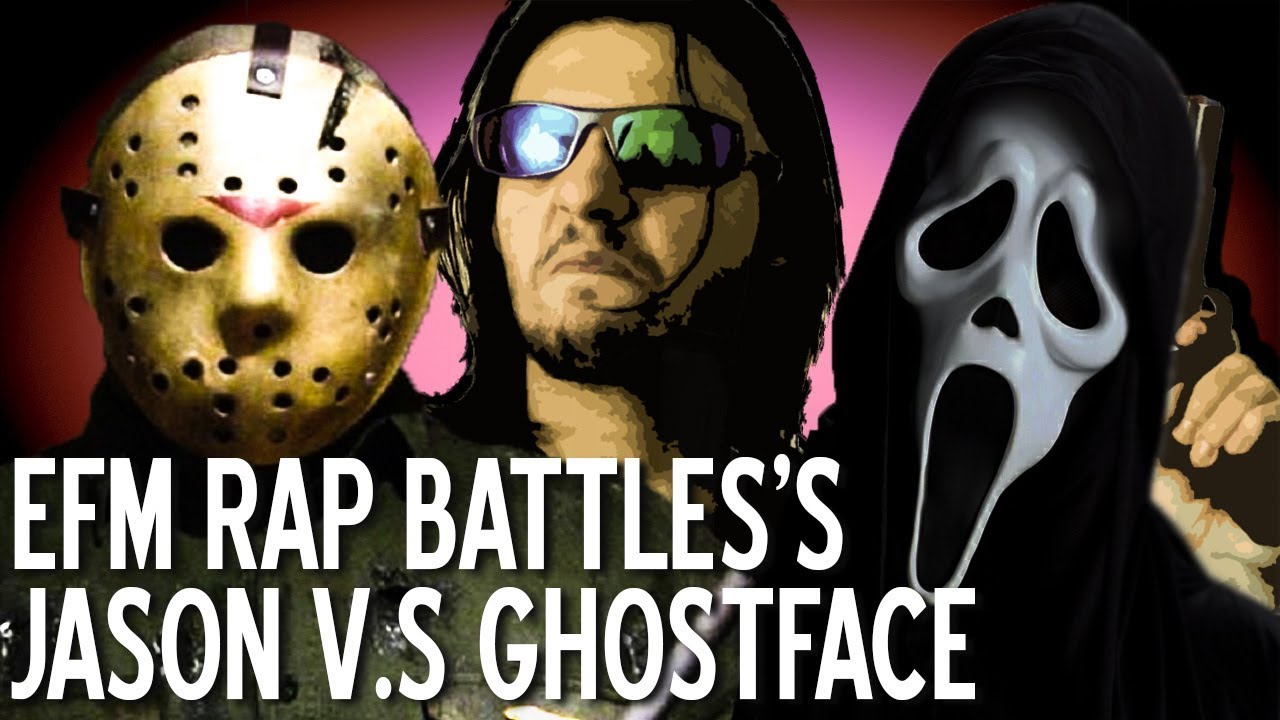 REVIEW TIME! Jason Voorhees vs Ghostface - EFM Rap Battles  sc 1 st  YouTube : nikolai belinski halloween costume  - Germanpascual.Com