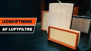 Skift Luftfilter selv - gratis instruktionsvideo