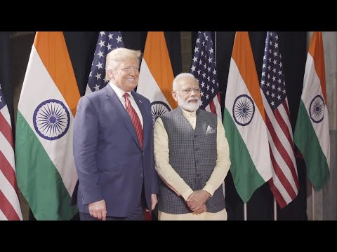 """President Trump Speaks to Thousands at """"Howdy Modi"""" in Texas"""