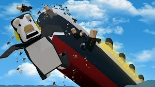 Roblox | ABANDON SHIP IT'S SINKING! Titanic Survival Roblox! (Roblox Adventures)