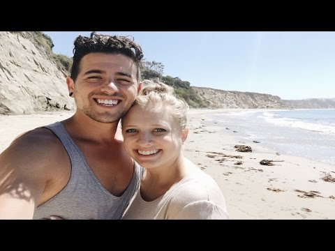 Vlog #46 - PRIVATE BEACH IN CALIFORNIA!!