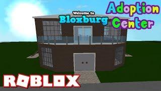 ROBLOX BLOXBURG ADOPTION CENTER SPEED BUILD HOUSE TUTORIAL