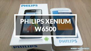 Philips Xenium W6500 Unboxing PL Rozpakowanie Robert Nawrowski