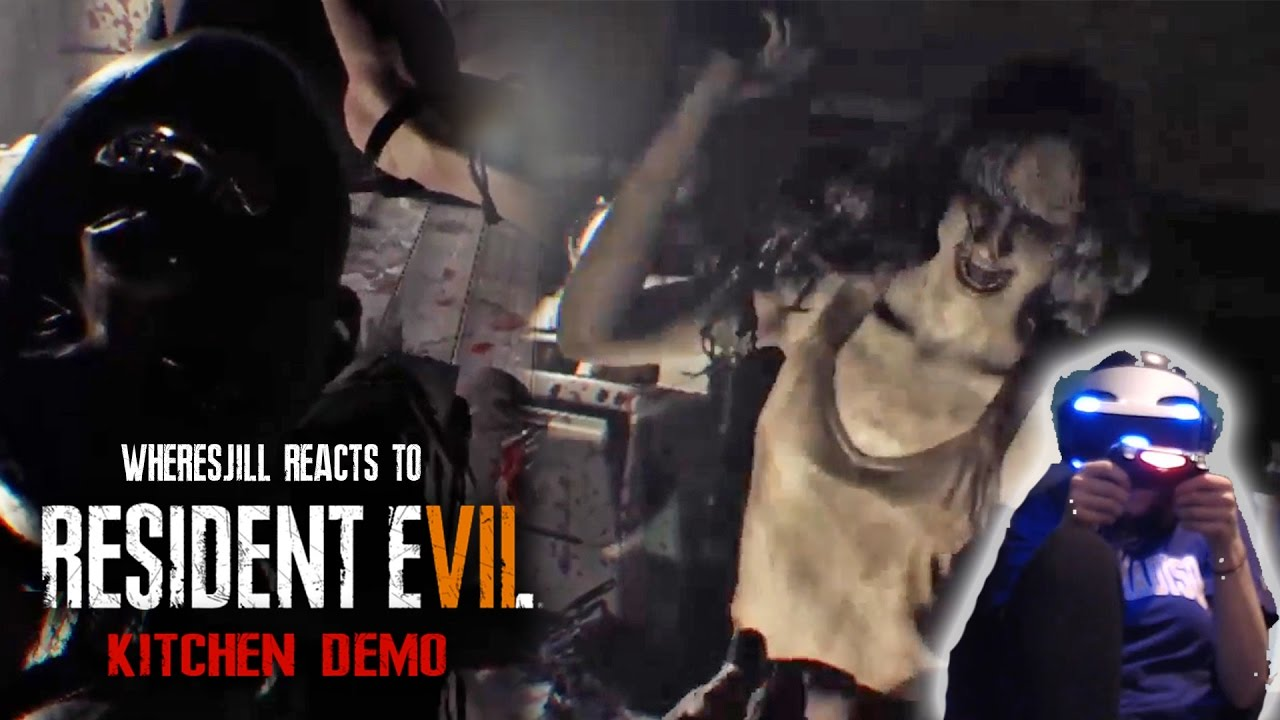 Wheres Jill Freaks Out To Resident Evil 7 Kitchen Demo | RE7 ...