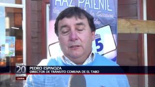 03 MAR 2015 25 LLAMAN A OBTENER PERMISO DE CIRCULACIÓN EN EL TABO