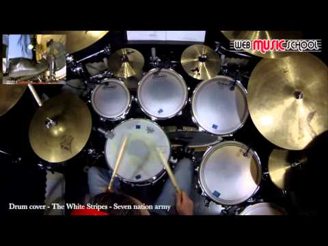 Drum drum tabs white stripes : The White Stripes - Seven nation army - DRUM COVER - YouTube