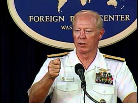 "Admiral Willard Discusses the ""Asia-Pacific U.S. Military Overview"""