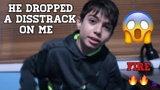 MY BIGGEST HATER DROPS A DISS TRACK ON ME *11 YEARS OLD*