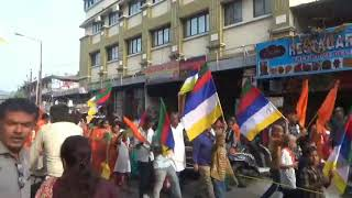 नालासोपारा में शिव शम्भू का कलश यात्रा,जय जय शिव शंकर,हर हर महादेव