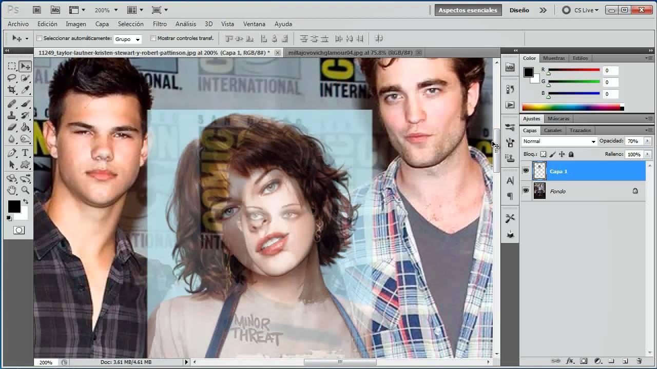 Fotomontaje Profesional Cambiar Rostro Tutorial De Photoshop