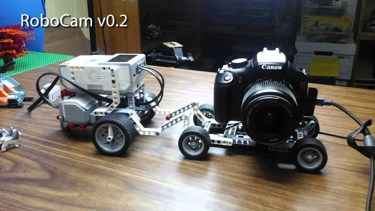 Camera Lego Nxt : Stopmotion dolly made with lego mindstorms ev youtube