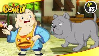 Little Buddha- S1EP35   Hindi Cartoon Show   Funny Videos For Kids   Wow Kidz Comedy