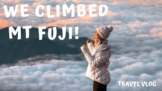 We Climbed Mt Fuji! | Our Unique Week With Japan Tourism | Travel Vlog