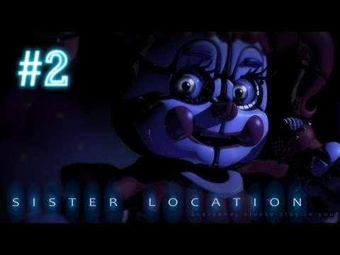 Balerina | Five Nights at Freddy's Sister Location RO Gameplay | Part 2