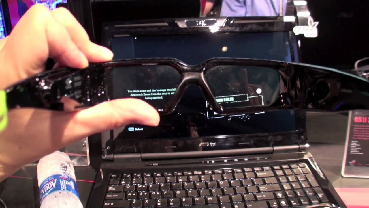 asus gaming laptop pc at ces 2010 youtube. Black Bedroom Furniture Sets. Home Design Ideas