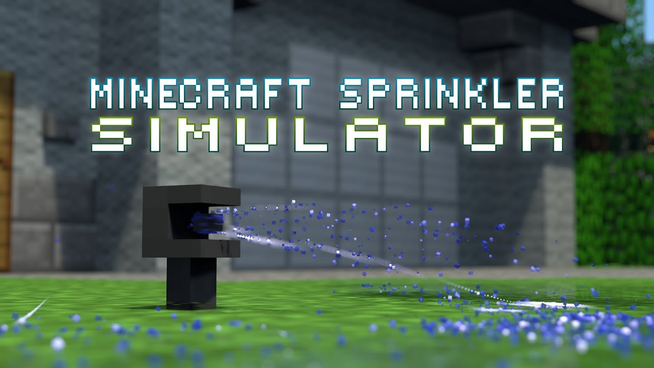 Image result for Minecraft sprinkler