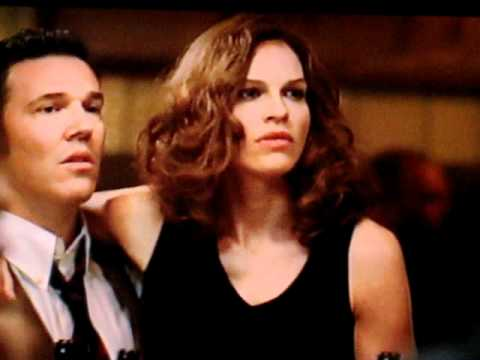 """Bar Scene from """"Conviction"""", starring Hilary Swank and Sam Rockwell"""