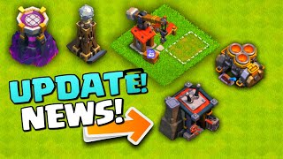 Clash Of Clans NEW LEVEL 13 BARRACKS AND LEVEL LEVEL 11 WIZARD TOWER!!!! TH 12 Update