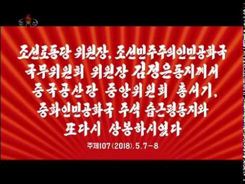 Kim Jong Un meets Xi Jinping in Dalian - North Korean TV report