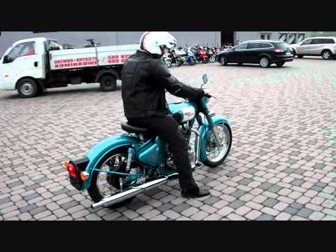 Royal Enfield Bullet C5 Classic test ride