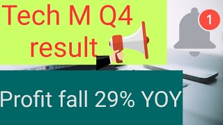 Tech M Q4 result buy sell or hold Stock market news