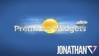 Premium Widgets And Weather - Widgets Elegantes y Modernos para Android