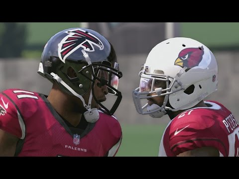JULIO JONES VS PATRICK PETERSON THROUGH THE YEARS - NCAA 11 - MADDEN 17