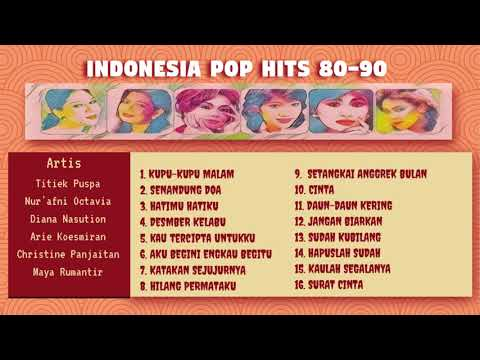Indonesia Pop Hits 80-90