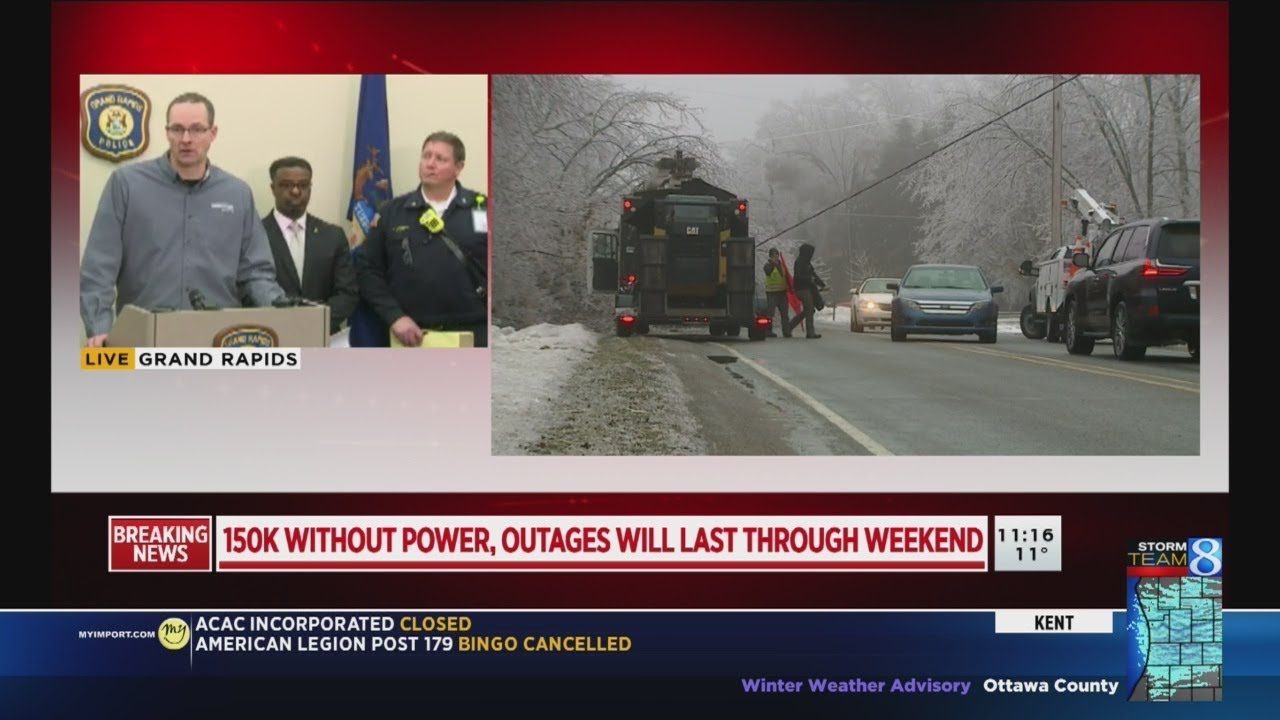 Consumers Energy expects power restoration progress a day after ...