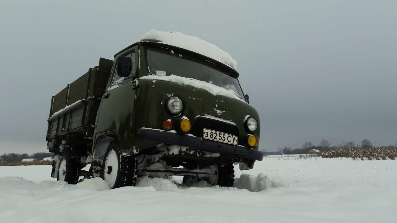 УАЗ-3303-01 январь 2018, первый выезд по снегу
