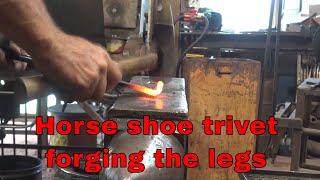 Horse shoe trivet - part 2 - New Mexican ironwork