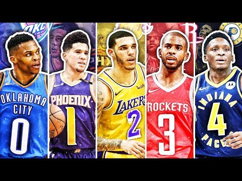BEST NBA PLAYER FROM EACH JERSEY NUMBER IN 2019 thumbnail