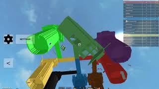 Roblox| Playing Doomspire Brickbattle mod (8 teams) by sparksj37 with BloodyBionicle!