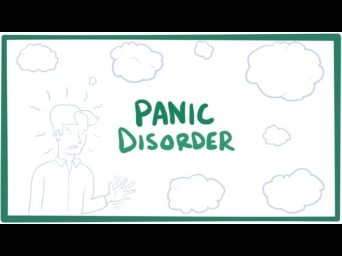 Panic disorder – panic attacks, causes, symptoms, diagnosis, treatment & pathology