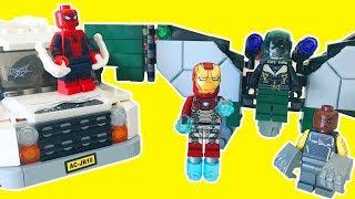 Video Örümcek Adam Spiderman Eve Dönüş Lego Seti Akbaba ve Şokçu Saldırısı | Süper Oyuncaklar download MP3, 3GP, MP4, WEBM, AVI, FLV November 2017