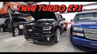 TWIN TURBO Z71 MAKING CRAZY POWER