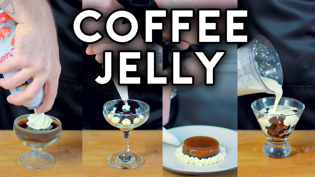 Download Binging with Babish: Coffee Jelly from The Disastrous Life of Saiki K.