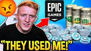 Tfue Explains How Epic Games *BETRAYED* Him After Spending THOUSANDS on V-BUCKS! - Fortnite Moments