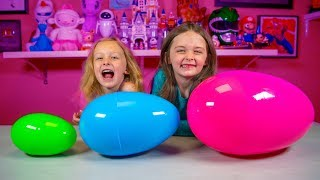 Big Bigger & Biggest Surprise Eggs Blind Bags Toys for Girls | Kinder Playtime It's a Toy Party!