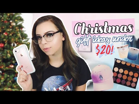 Christmas Gift Ideas Under $20! Inexpensive & Cute Gifts for Friends!