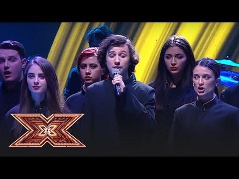"""Finala X Factor 2018. Cristian Moldovan cântă melodia """"Ameno"""", ultima dată pe scena X Factor"""