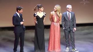 Paris Premiere The Mummy (Tom Cruise, Alex Kurtzman, Sofia Boutella, Annabelle Wallis)