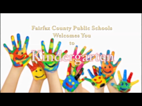 Kindergarten   Fairfax County Public Schools