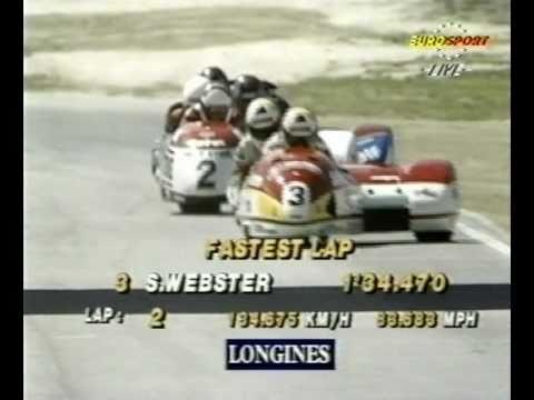1991 Sidecar Grand Prix - Laguna Seca