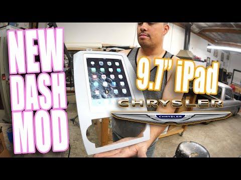 FREE-Bird Update! and Rafa's NEW dash mod! Chrysler iPad 9.7