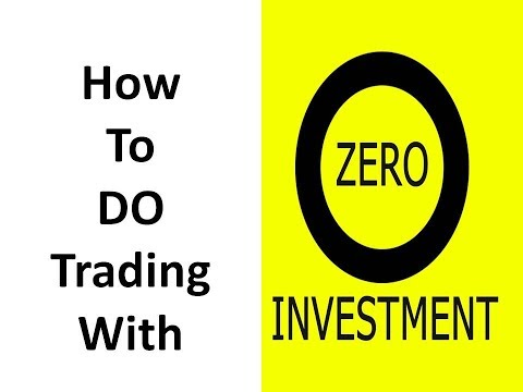 How to do online trading with no investment