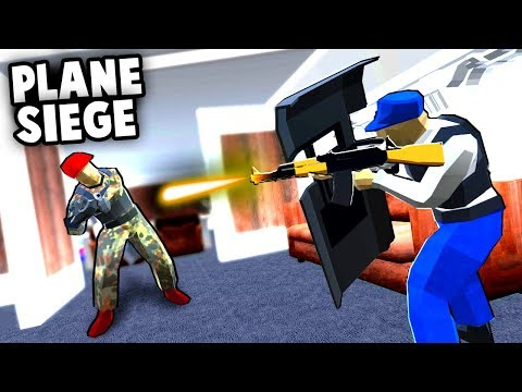 Crazy PLANE SIEGE!  Air Force One is Under ATTACK! (Ravenfield Best User Made Levels & Mods)