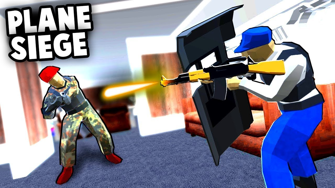 Crazy PLANE SIEGE! Air Force One is Under ATTACK! (Ravenfield Best