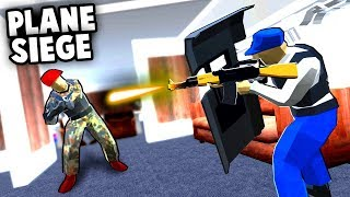Crazy PLANE SIEGE!  Air Force One is Under ATTACK! (Ravenfield Best User Made Levels & Mods) thumbnail